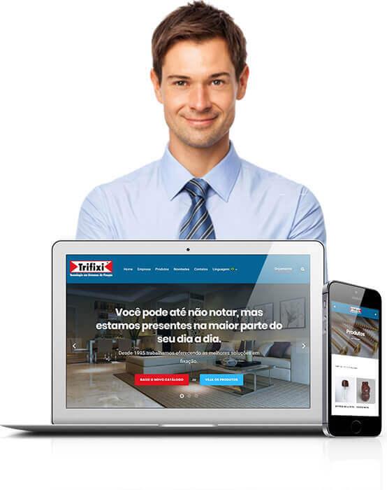 Criação de sites para Micro e Pequena Empresa